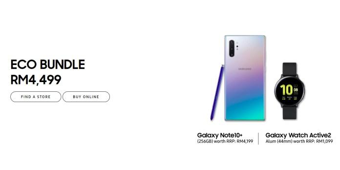 Samsung Galaxy 10th Anniversary bundles