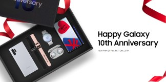 Samsung Galaxy 10th Anniversary bundles