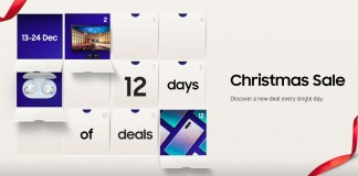 Samsung Malaysia advent calendar of deals 2019