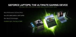 RTX Super laptop