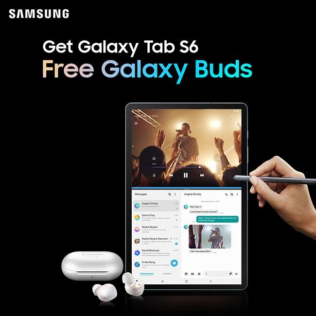 Galaxy Tab S6 Raya Promotion
