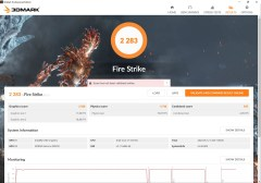 Huawei MateBook X Pro 2020 3DMark score