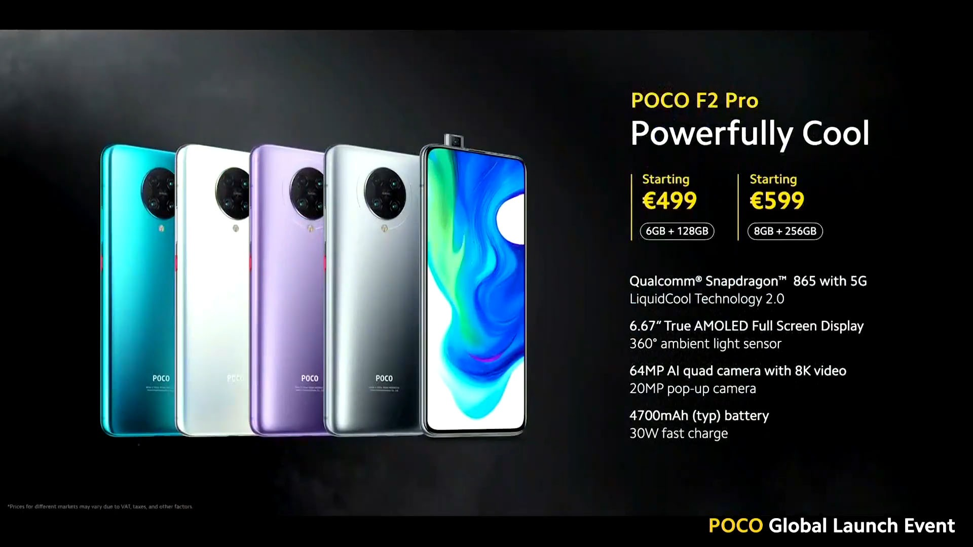 Update Again Here S The Poco F2 Pro Starts At Rm2 199 Promo Price At Rm1 999 Only Nasi Lemak Tech