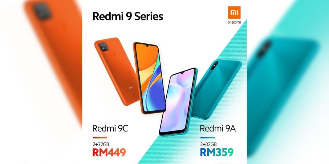 Redmi 9A and Redmi 9C announced for Malaysia
