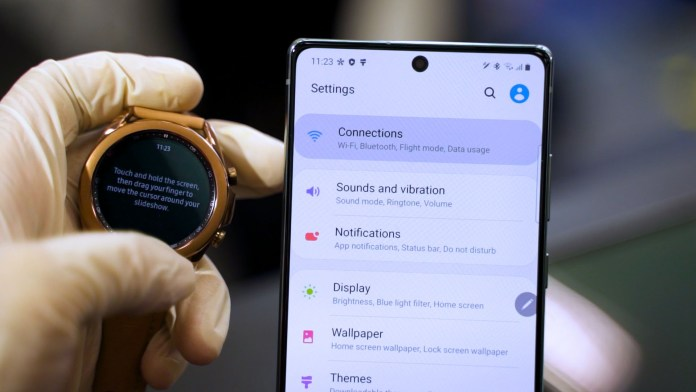 Samsung Galaxy Watch 3 event