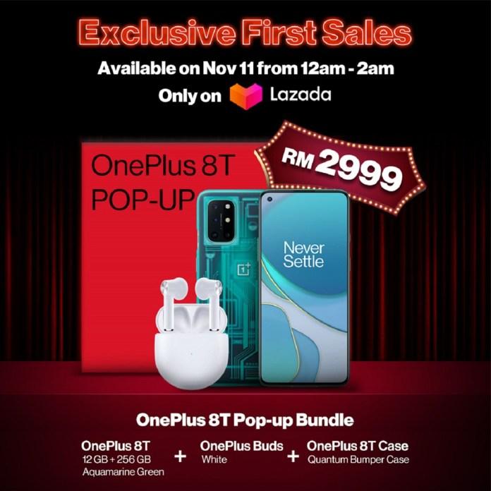 OnePlus 8T Pop Up Bundle