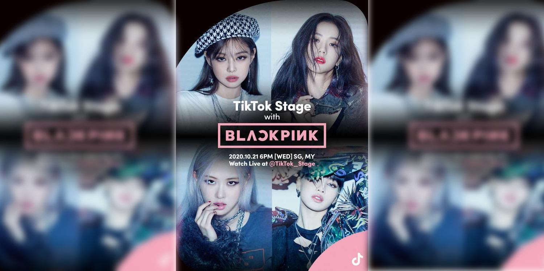Catch Blackpink Live On Tiktok At October 21 6 P M Nasi Lemak Tech