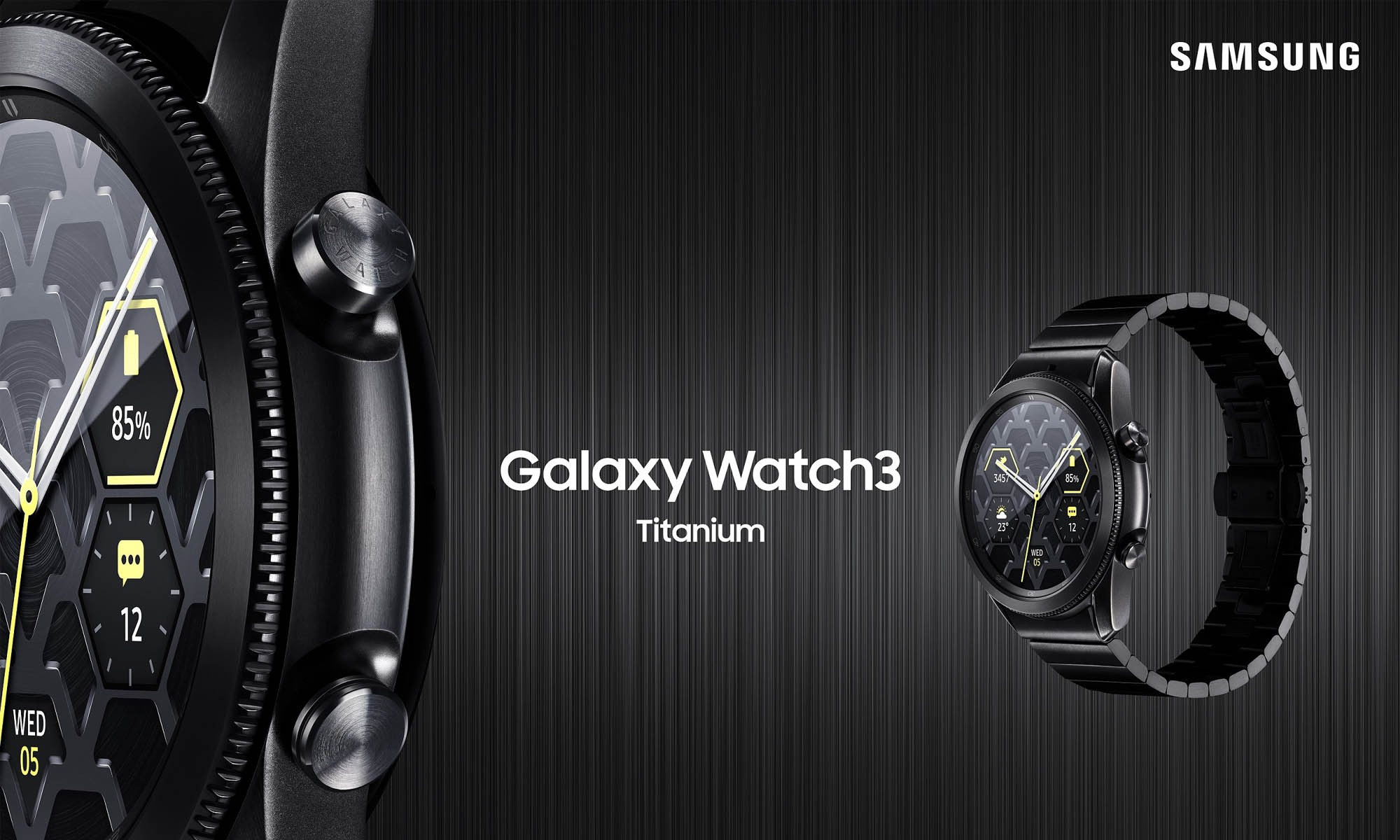 Fancy a smartwatch built for durability from the ground up? Then the  Samsung Galaxy Watch3 Titanium will surely catch your eyes in a new  distinguished design.