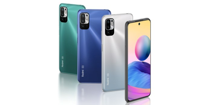 Redmi Note 10 5G all colors