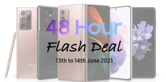 Samsung Galaxy 48 Hour Flash Deal Featured