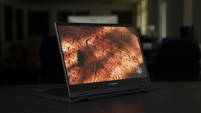 First Impression - ASUS ExpertBook B5 Flip 8