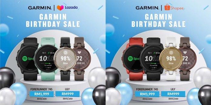 Garmin Birthday Sales 2021 2