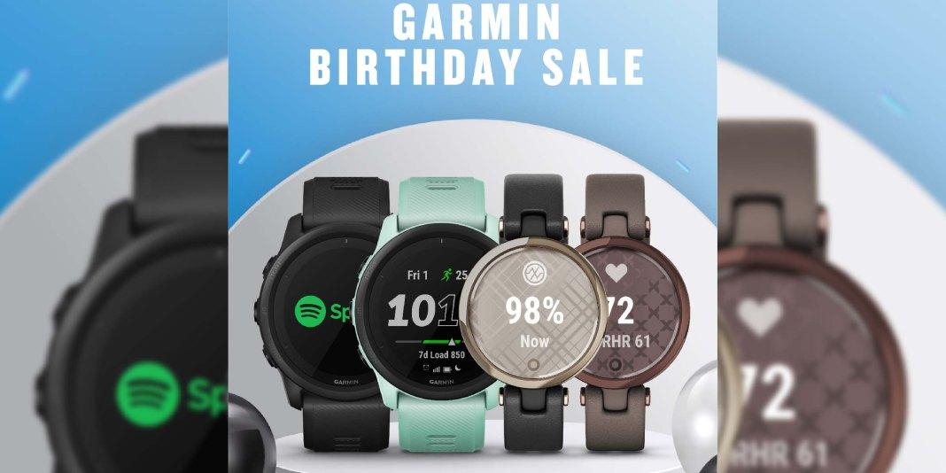 Garmin Birthday Sales 2021
