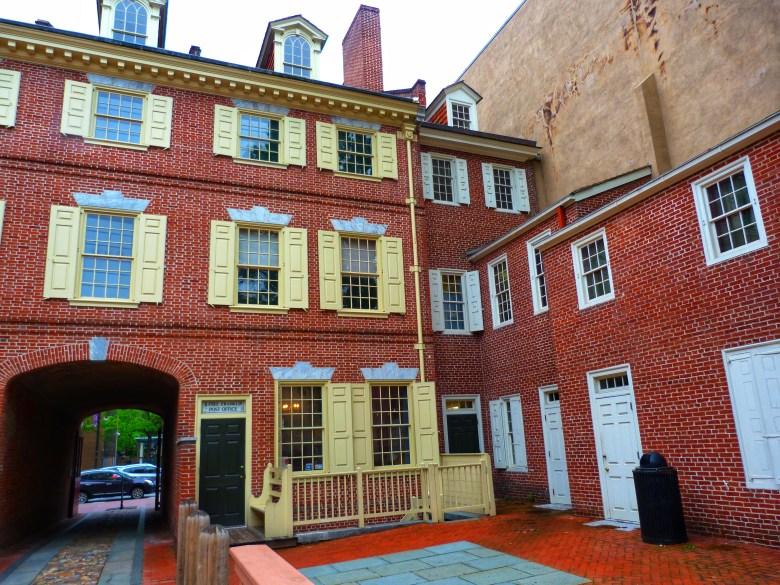 Benjamin Franklins House Philadelphia USA