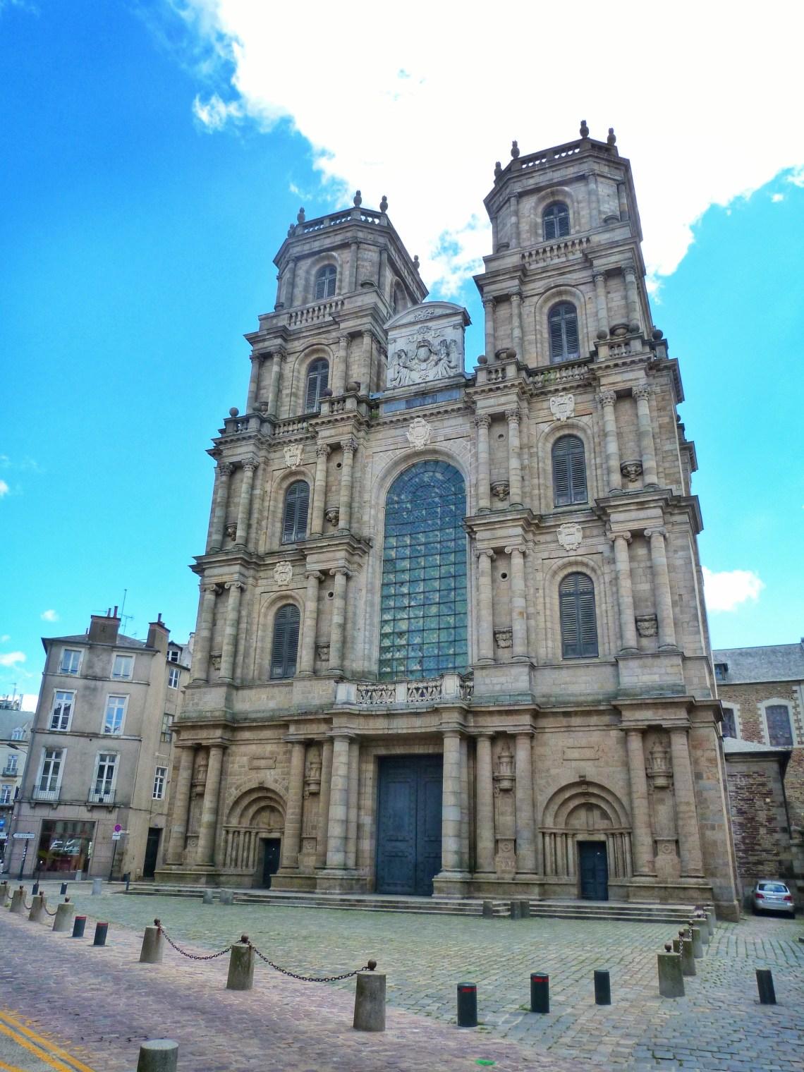 Rennes Cathedral Rennes Katedrali France