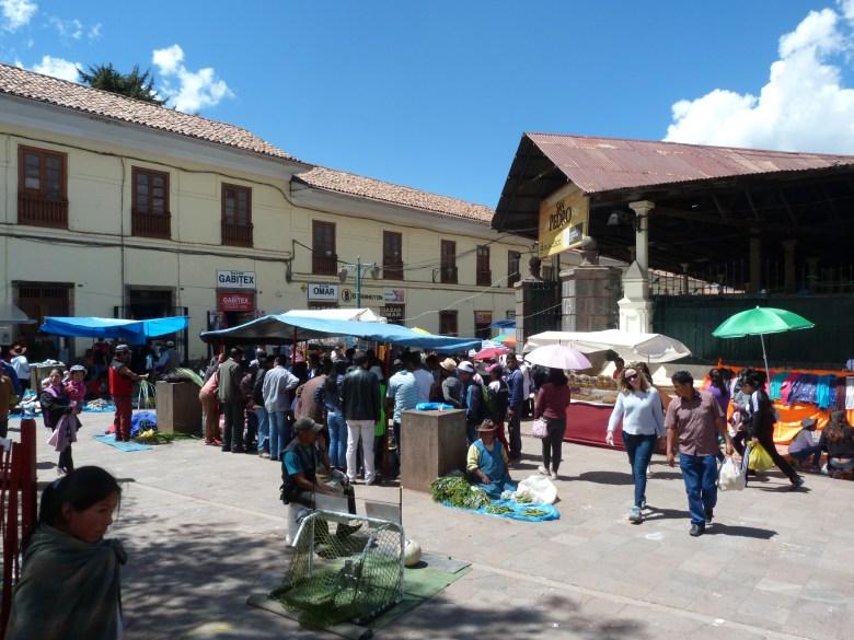 San Pedro Market Cusco Peru