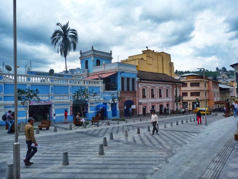 Streets of Quito Ecuador