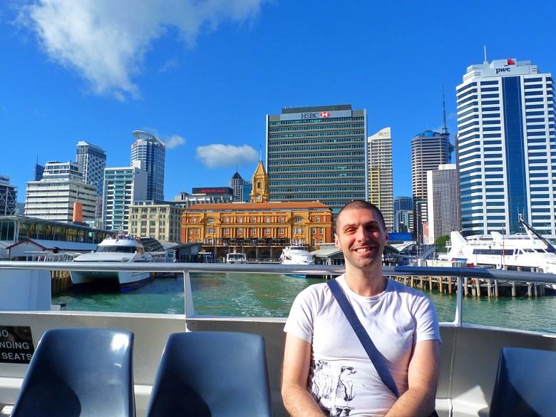 Auckland Limani ve Ben