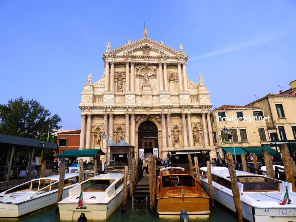 venedik gezi rehberi, venedik gezilecek yerler, chiesa di santa maria di nazareth