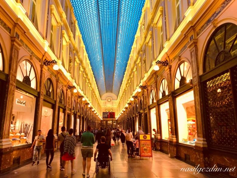 brüksel gezi rehberi, brüksel Galeries Royales Saint-Hubert brüksel gezilecek yerler, nasilgezdim, brussels Galeries Royales Saint-Hubert