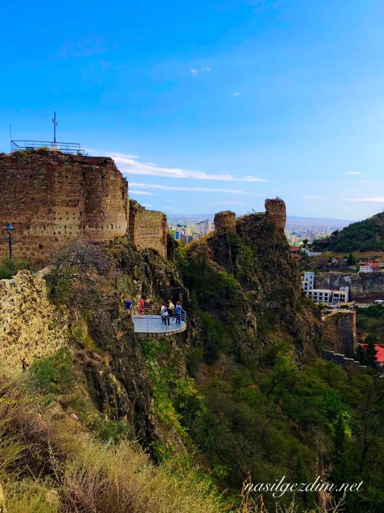 Tiflis Gezi Rehberi, Tiflis Gezilecek Yerler, Gürcistan Gezi Rehberi, Gürcistan Gezilecek Yerler, Narika Kalesi