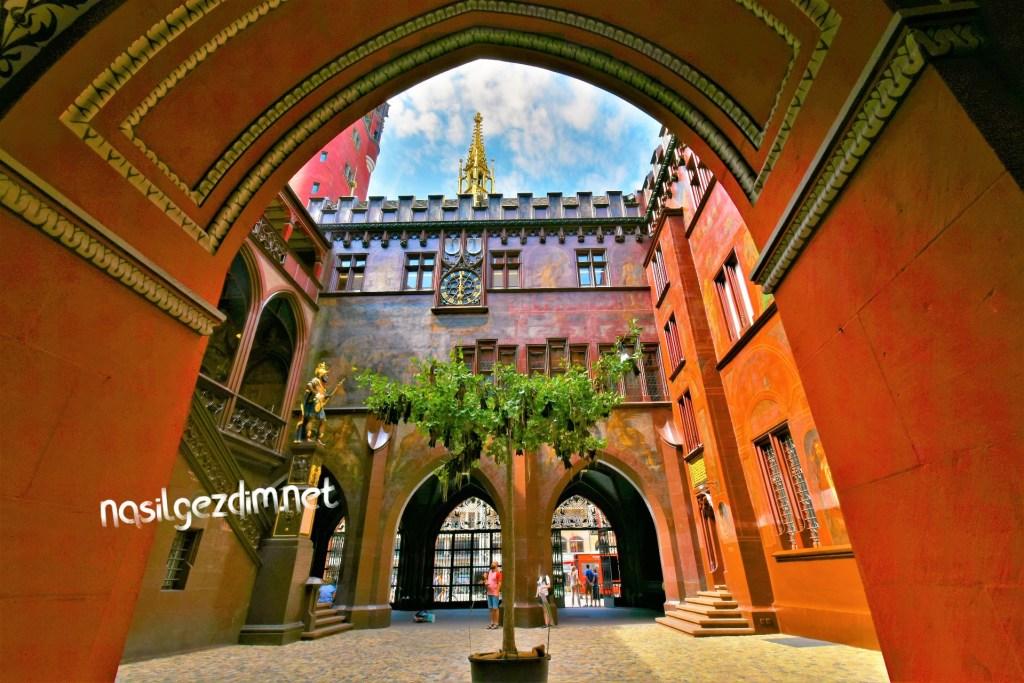 basel gezi rehberi, basel gezisi, basel gezilecek yerler, basel belediye binası, basel rathaus