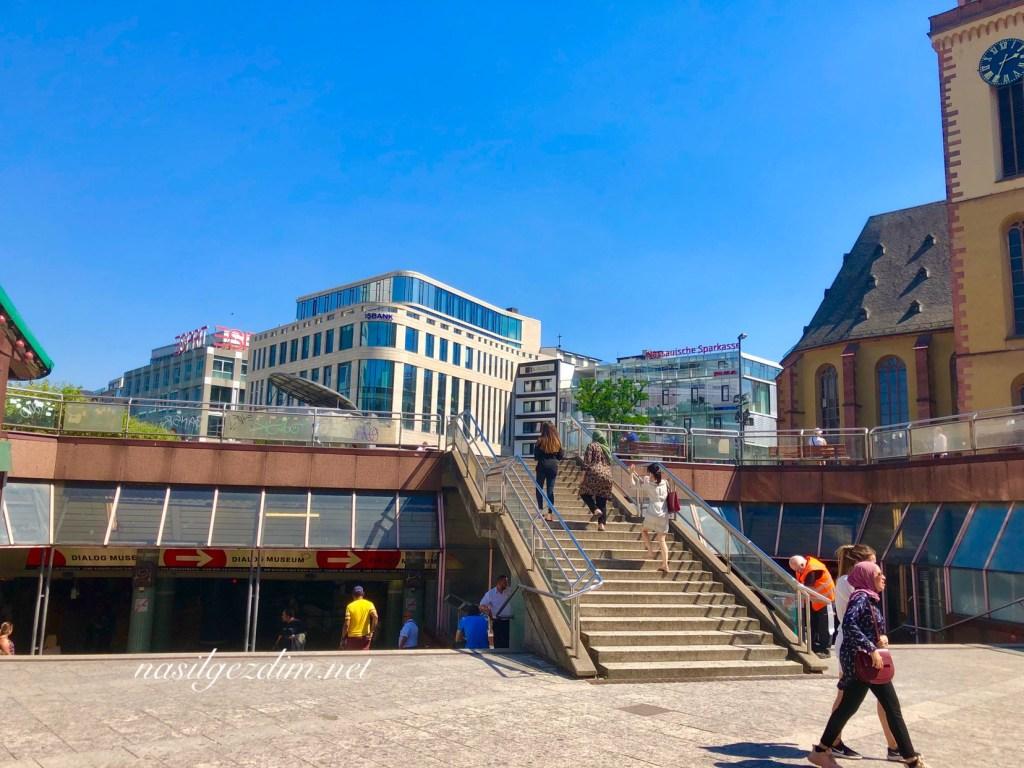 frankfurt gezilecekler yerler, frankfurt gezi rehberi, almanya frankfurt gezilecek yerler