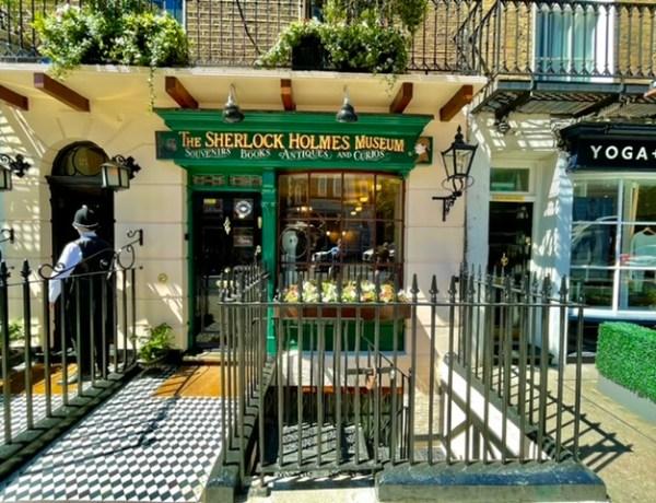 sherlock holmes müzesi, 221b baker sokağı, londra'nın en iyi müzeleri, sherlock holmes evi