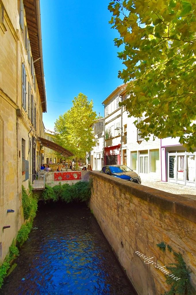 avignon gezilecek yerler, avignon gezi notları, rue des teinturiers, avignon fransa