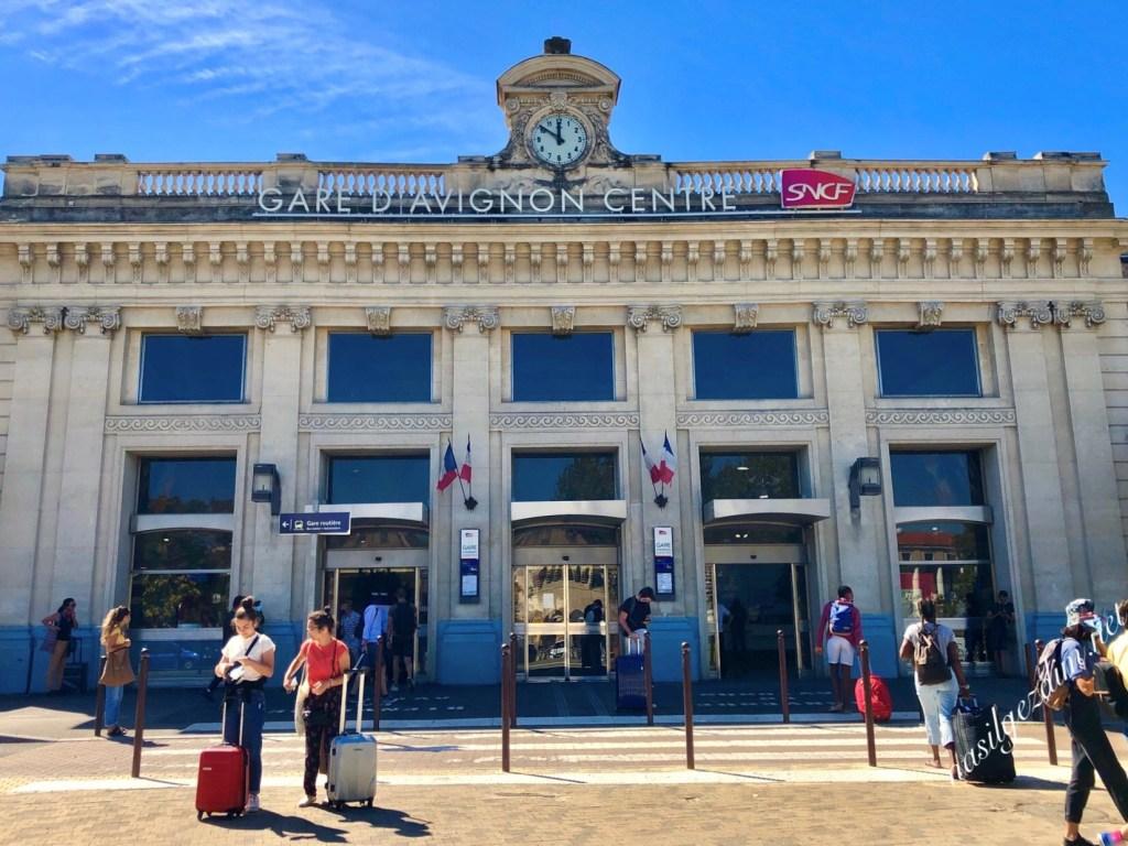 avignon nasıl gidilir, avignon gezi rehberi, gare de avignon tren istasyonu