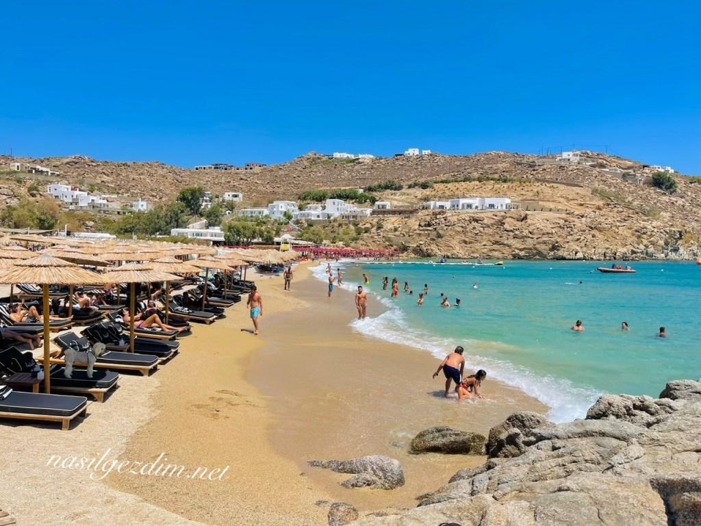 super paradise beach, mykonos gezilecek yerler