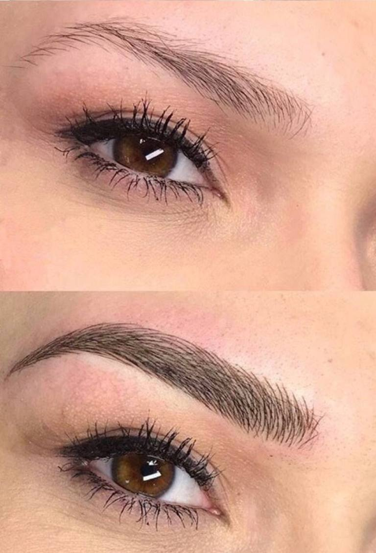 nanobrows-model-before-after
