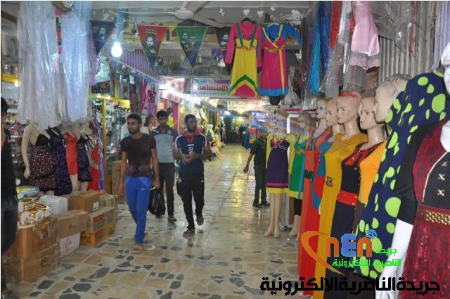 c4f82517f اسواق الناصرية تزدحم بالمتبضعين استعدادا لاستقبال عيد الفطر المبارك ...