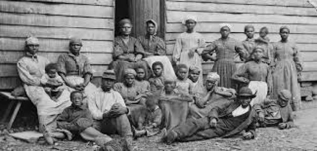 The important of captured Africans ended in 1863 when President Lincoln Issued the Emancipation Proclamation.
