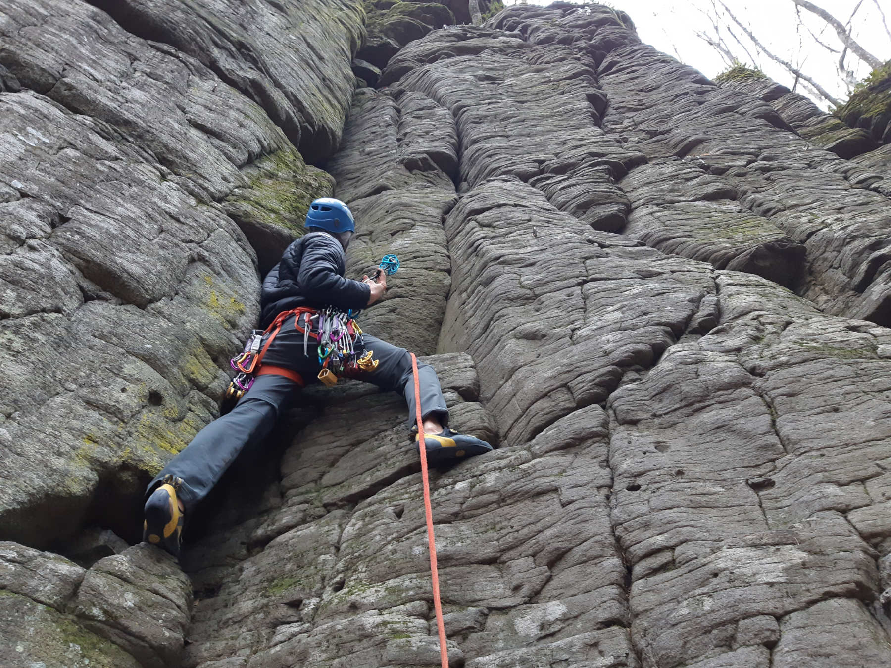kalamarka trad climbing