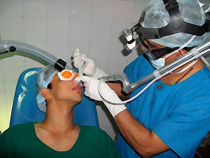 Лечение гайморита проколом. Как проходит операция