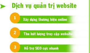 Dịch vụ quản trị website tại Vĩnh Phúc
