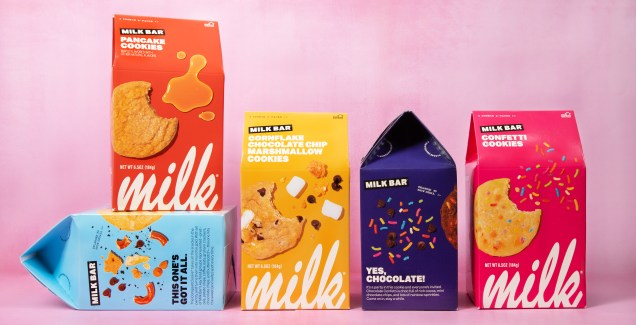 Milk Bar, Christina Tosi, confetti cookie, cornflake chocolate chip marshmallow cookie, compost cookie, pancake cookie, chocolate confetti cookie