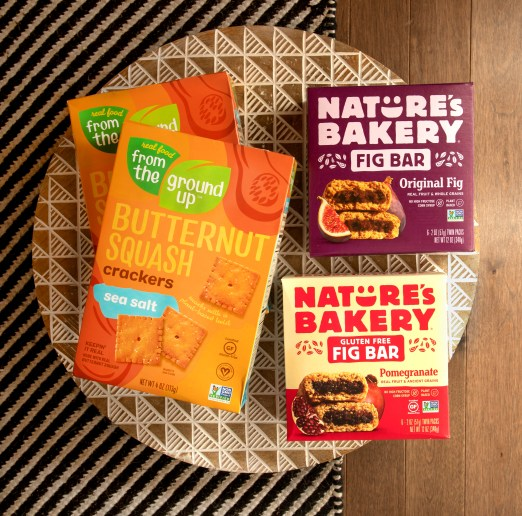 snacks, snack foods, plant-based snacks, whole wheat fig bars, gluten free fig bars, Natures Bakery fig bars, From the Ground Up Snacks, health and wellness, healthy snacks