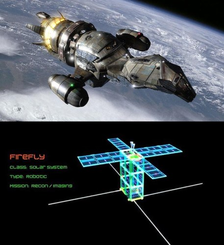 Firefly in the Asteroid Belt. For Real. | Nas Hedron ...
