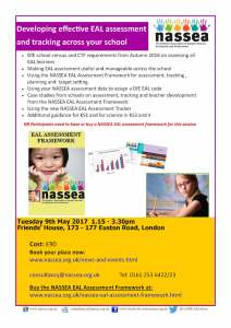 Developing Effective EAL Assessment and Tracking across your School @ Friend's Meeting House | England | United Kingdom