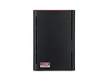 Buffalo LinkStation 520 LS520DE-EU 2-Bay NAS (1.0GHz Dual-Core, DDR3 256MB) Schwarz - 4