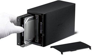 Buffalo LinkStation LS220 6 TB (2 x 3 TB) 2 Bay Desktop NAS-Einheit - 3