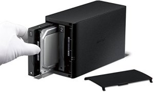 Buffalo LinkStation LS220 6 TB (2 x 3 TB) 2 Bay Desktop NAS-Einheit - 3