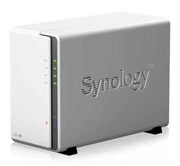 Synology DS218J 2 Bay Desktop-NAS-Gehäuse - 2