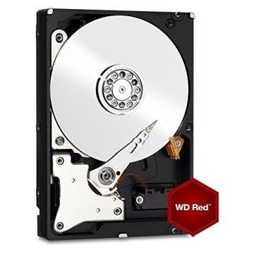 WD Red 1TB interne Festplatte SATA 6Gb/s 64MB interner Speicher (Cache) 8,9 cm 3,5 Zoll 24x7 5400Rpm optimiert für SOHO NAS Systeme 1-8 Bay HDD RETAIL WDBMMA0010HNC-ERSN - 3