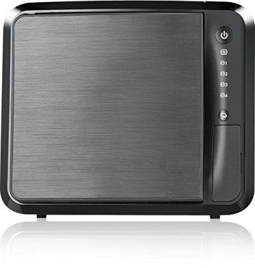 Zyxel Privater Cloud Speicher/Storage [4-Bay NAS] mit Fernzugriff und Media Streaming (JBOD, Raid 1, Raid 5) [NAS542] - 3