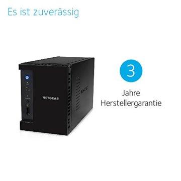 NETGEAR RN212D23-100NES 212 D-Disc NAS-System 6TB - 7