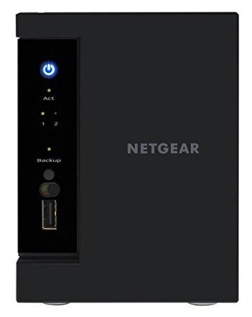NETGEAR RN212D23-100NES 212 D-Disc NAS-System 6TB - 9