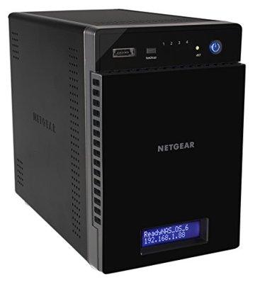 NETGEAR RN214D43-100NES 214 D-Disc NAS-System 12TB - 1